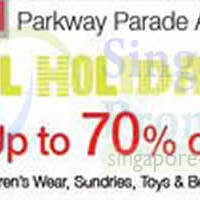 Read more about Isetan School Holiday Sale @ Parkway Parade 2 - 8 Jun 2014