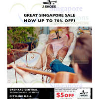 Read more about J Shoes Up To 70% OFF Great Singapore SALE 31 May 2014