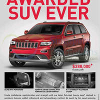 Read more about Jeep 2014 Grand Cherokee Summit Offer 24 May 2014