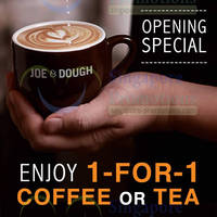 Read more about Joe & Dough 1 For 1 Coffee/Tea @ Orchard Gateway 7 - 15 May 2014