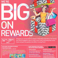 Read more about Jurong Point Big on Rewards GSS Promotions 16 May - 29 Jun 2014