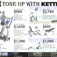 Read more about Kettler Exercise Machines & Gym Equipment Offers 9 May 2014