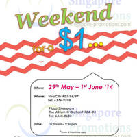 Read more about Kipling Weekend For A $1 Sale 29 May - 1 Jun 2014