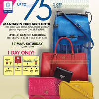 Read more about LovethatBag Branded Handbags Sale Up To 75% Off @ Mandarin Orchard 17 May 2014