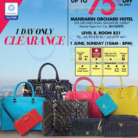 Read more about LovethatBag Branded Handbags Sale Up To 75% Off @ Mandarin Orchard 1 Jun 2014