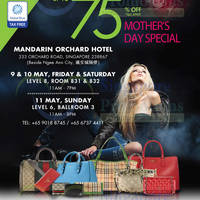 Read more about LovethatBag Branded Handbags Sale Up To 75% Off @ Mandarin Orchard 9 - 11 May 2014