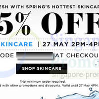 Read more about Luxola 25% OFF Skincare (NO Min Spend) 2Hr Coupon Code 27 May 2014