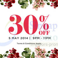 Read more about Luxola 30% OFF Storewide Coupon Code (NO Min Spend) 5 May 2014