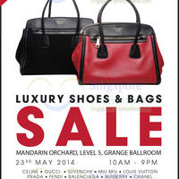 Read more about Brandsfever Handbags & Footwear Sale 23 - 24 May 2014