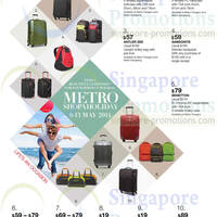 Read more about Metro Branded Luggage Offers 9 - 13 May 2014