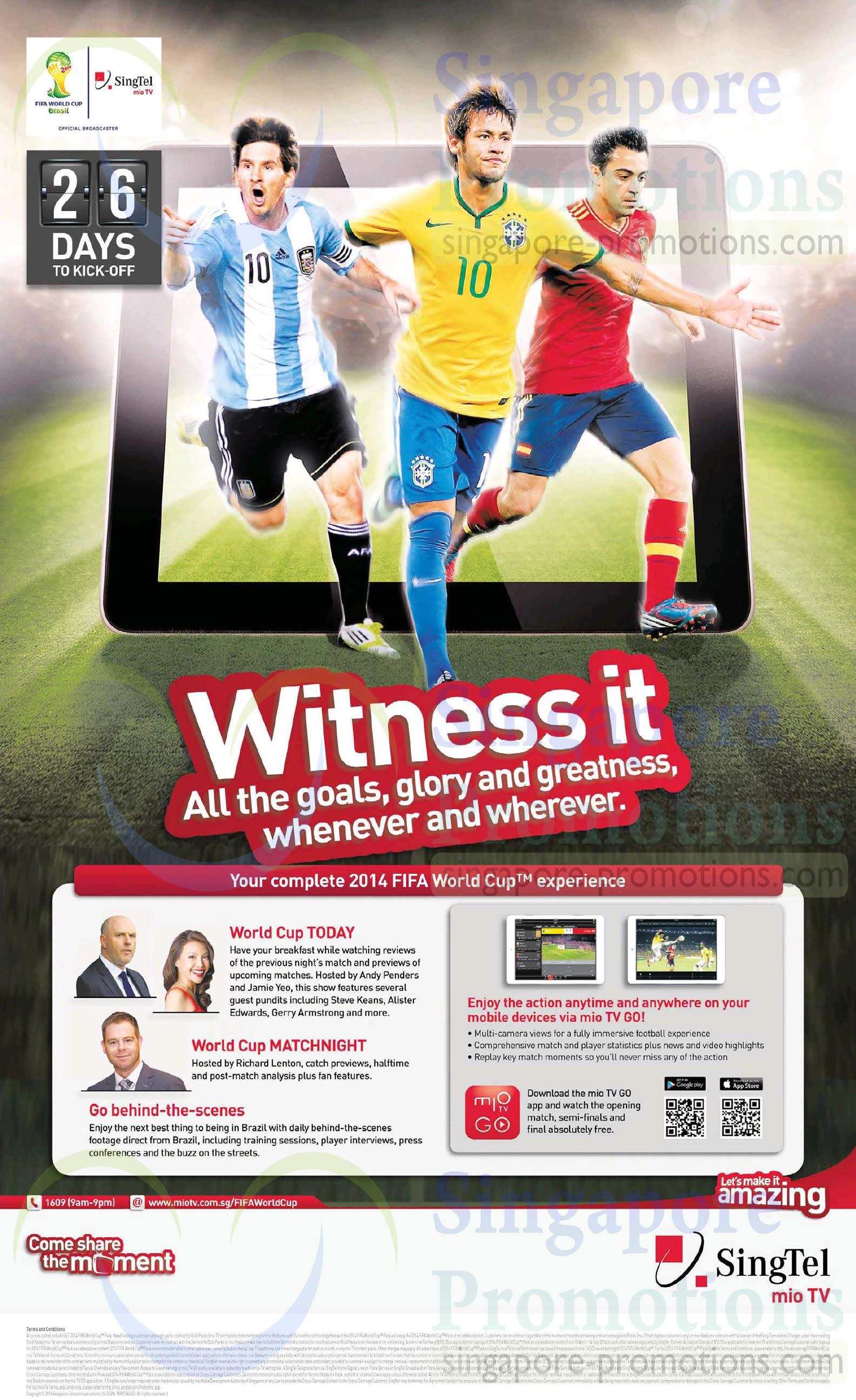 Mio TV Go Fifa World Cup