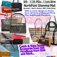 Read more about MyBagEmpire Branded Handbags & Accessories Sale @ Northpoint 5 - 11 May 2014