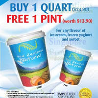 Read more about New Zealand Natural Buy One Quart & Get 1 Print FREE 31 May - 27 Jul 2014