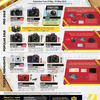 Read more about Nikon Digital Cameras Great Nikon SALE Offers 8 May - 30 Jun 2014