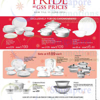 Read more about OG Corningware, Corelle, Pyrex & Visions Kitchenware Offers 22 May - 11 Jun 2014