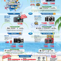 Read more about Olympus Digital Cameras Promotion Offers 1 - 31 May 2014