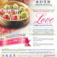 Read more about Paradise Dynasty Yuan Yang Xiao Long Bao Offer For ANZ Cardmembers 2 May - 30 Jun 2014