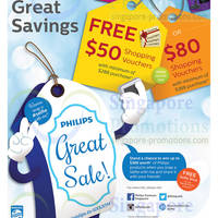 Read more about Philips Spend $288 & Get Free Shopping Vouchers Great Sale 30 May - 3 Aug 2014