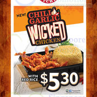 Read more about Popeyes NEW Chili Garlic Wicked Chicken 5 - 31 May 2014