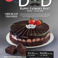 Read more about Prima Deli Chocolate Cravings Cake Promo For Father's Day 30 May - 13 Jun 2014
