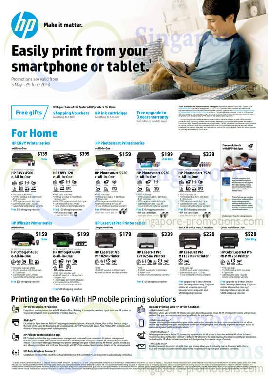 HP 4500 Printer, HP 120 Printer, HP 5520 Printer, HP 6520 Printer, HP 7520 Printer, HP 4630 Printer, HP 6600 Printer, HP P1102w Printer, HP CP1025nw Printer, HP M1132 Printer, HP M176n Printer