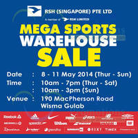 Read more about Royal Sporting House Warehouse SALE 8 - 11 May 2014