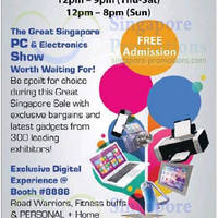 Read more about SG Tech Show @ Suntec Convention Centre 29 May - 1 Jun 2014