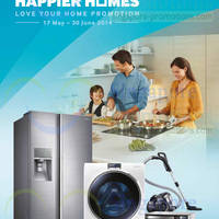 Read more about Samsung Washers, Fridges & Home Appliances Offers 17 May - 30 Jun 2014