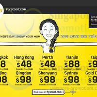 Read more about Scoot Airlines From $18 Promo Air Fares 9 - 11 May 2014