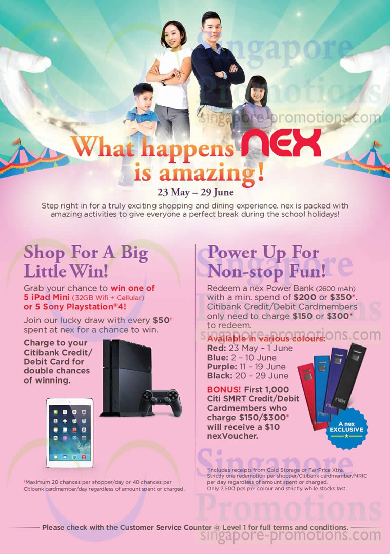 Shop For a Big Little Win, Power Up For Non Stop Fun
