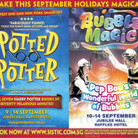 Read more about Potted Potter & Bubble Magic Shows @ Raffles Hotel 9 - 14 Sep 2014