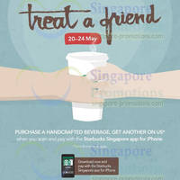 Read more about Starbucks 1 For 1 Beverage Promo For iPhone App Users 20 - 24 May 2014