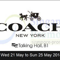 Read more about Takashimaya Coach Exclusive Sale 21 - 25 May 2014