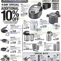 Read more about Takashimaya Happycall & Tiger Kitchenware & Electronics Offers 22 May - 10 Jun 2014