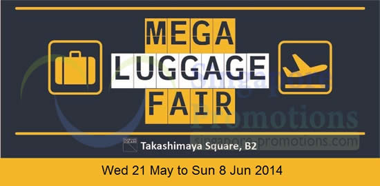 Takashimaya Mega Luggage 16 May 2014