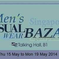 Read more about Takashimaya Men's Casual Wear Bazaar 15 - 19 May 2014