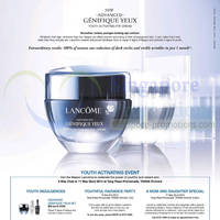 Read more about Lancome Paris Youth Activating Event @ Tangs 6 - 11 May 2014