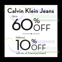 Read more about Calvin Klein Jeans & Underwear Sale @ Tangs Orchard 12 May - 31 Jul 2014