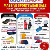 Read more about Taskermania Sportswear SALE @ Funan 15 - 18 May 2014