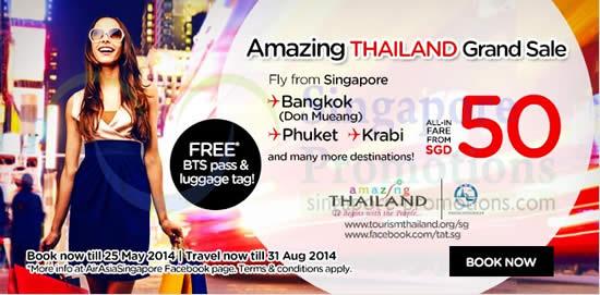 Thailand Promo Air Fares
