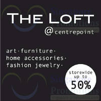 Read more about The Loft SALE @ Centrepoint 24 May 2014