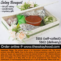 Read more about The Satayhood $55 Satay Bouquet Mother's Day Promo 6 - 10 May 2014