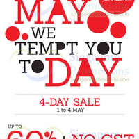 Read more about TianPo Jewellery Up To 60% OFF 4 Day SALE 1 - 4 May 2014