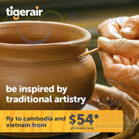 Read more about TigerAir From $54 Cambodia & Vietnam Promo Air Fares 30 May - 10 Jun 2014