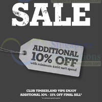 Read more about Timberland SALE 22 May 2014