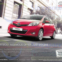 Read more about Toyota Yaris Price & Features 17 May 2014