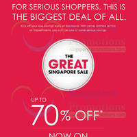 Read more about Robinsons Great Singapore Sale Promotions & Offers 16 May 2014