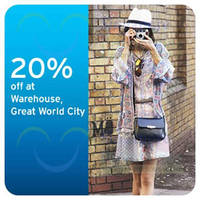 Read more about Warehouse New Store Opening Launch Citibank Cardmember Promos 8 - 11 May 2014