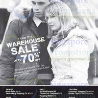 Read more about Winter Time Up to 70% Off Warehouse SALE 1 - 4 May 2014