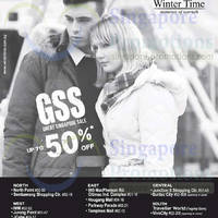 Read more about Winter Time Up To 50% OFF Great Singapore SALE 30 May 2014
